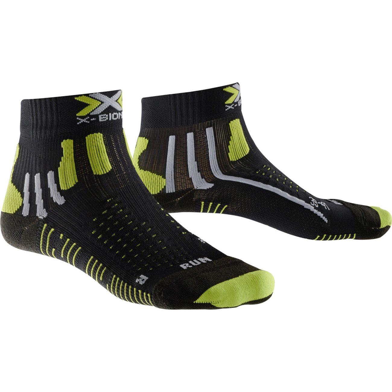 Homme Course Chaussettes Pied Running À X bionic Effektor Xbs Rj354LAq