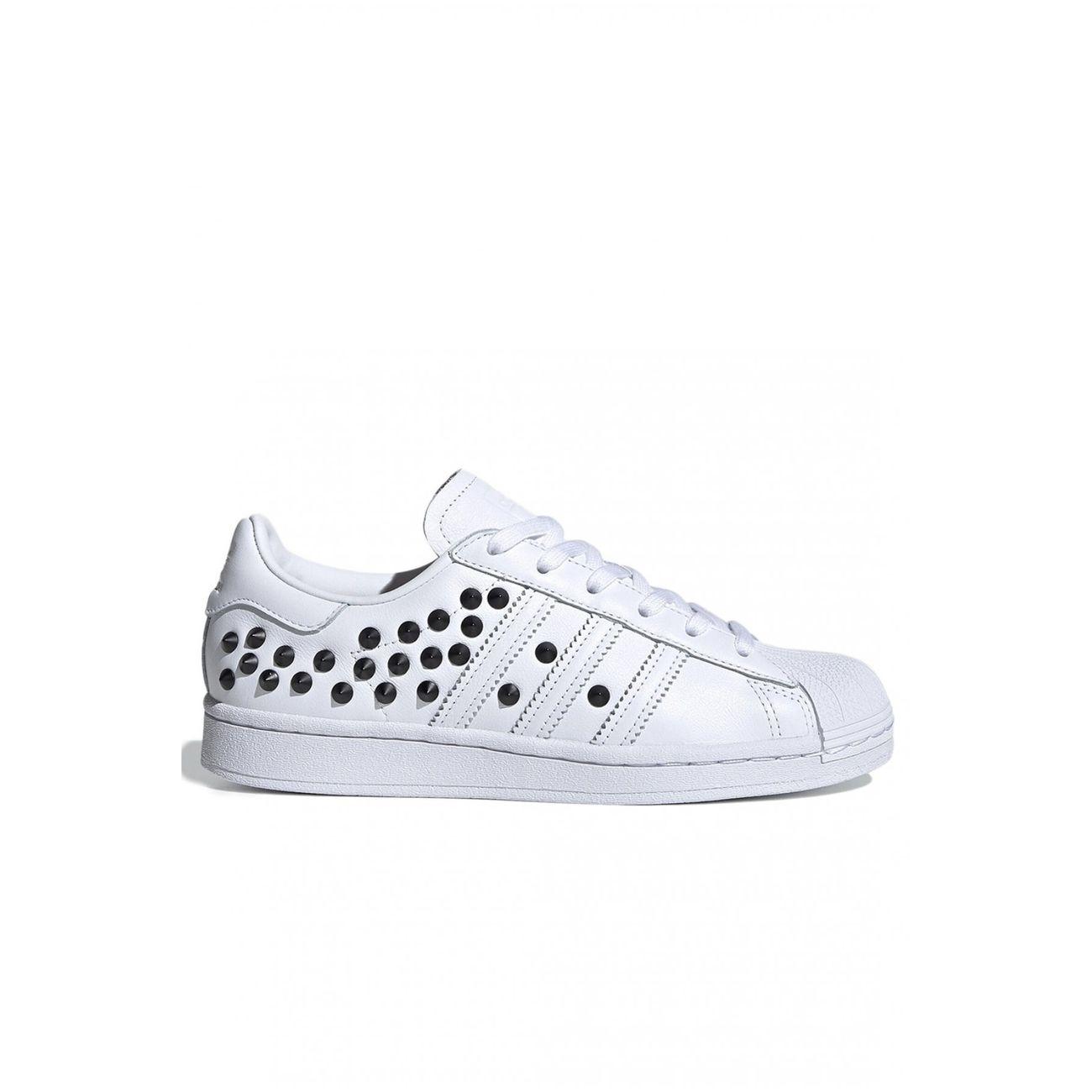femme ADIDAS Sneakers en cuir clouté Superstar - Adidas - Femme