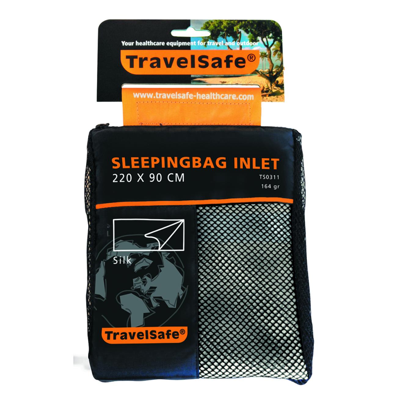 Camping TRAVELSAFE Travelsafe Sac à viande rectangulaire en soie TS0311