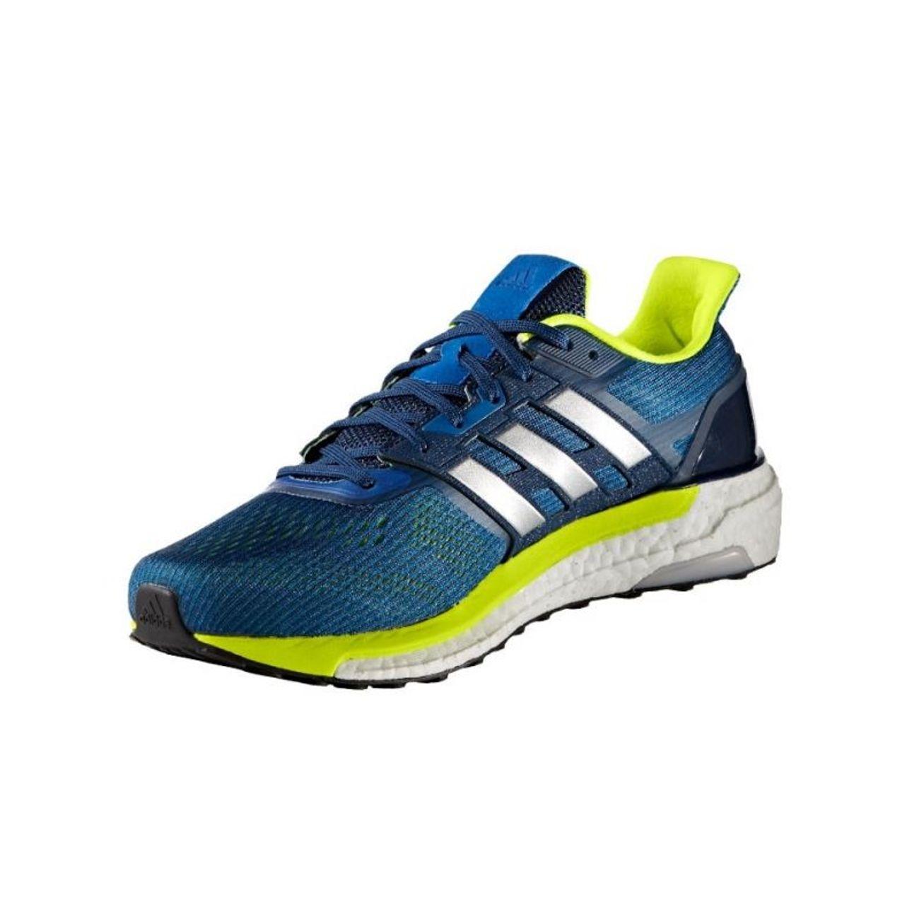the latest 7f68e 67775 ... running homme ADIDAS Adidas - Supernova chaussures de running pour  hommes (bleu jaune) ...