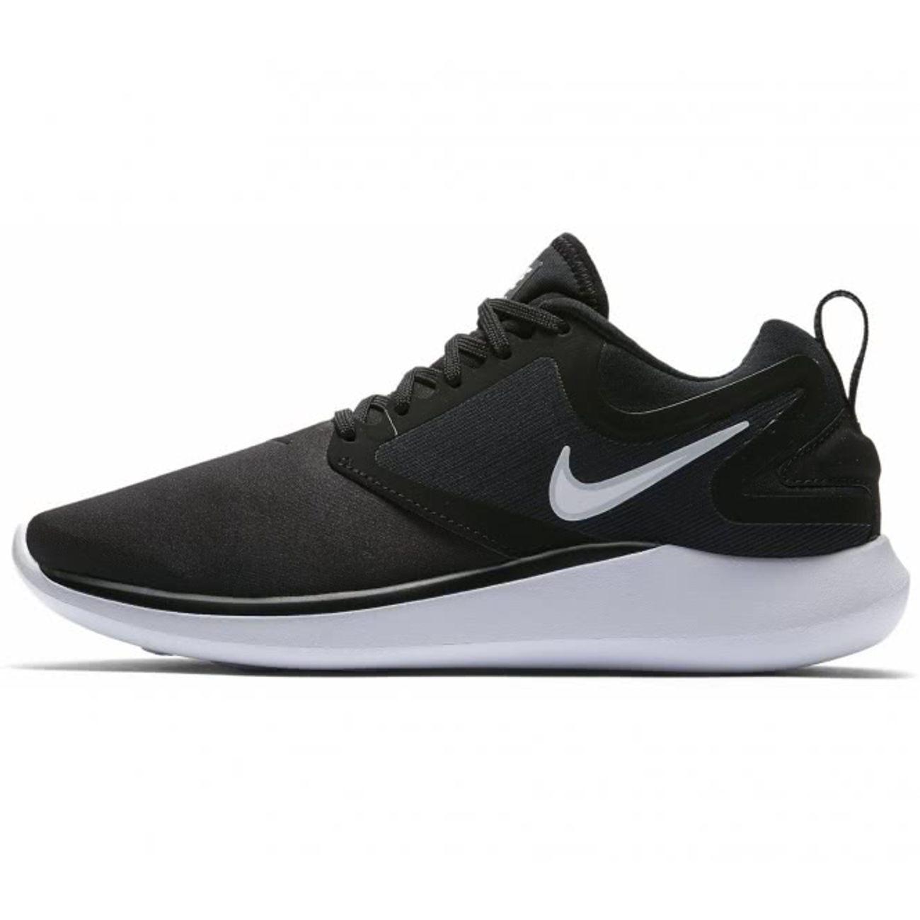 Nike - LunarSolo Femmes chaussure de course (noir/blanc ...