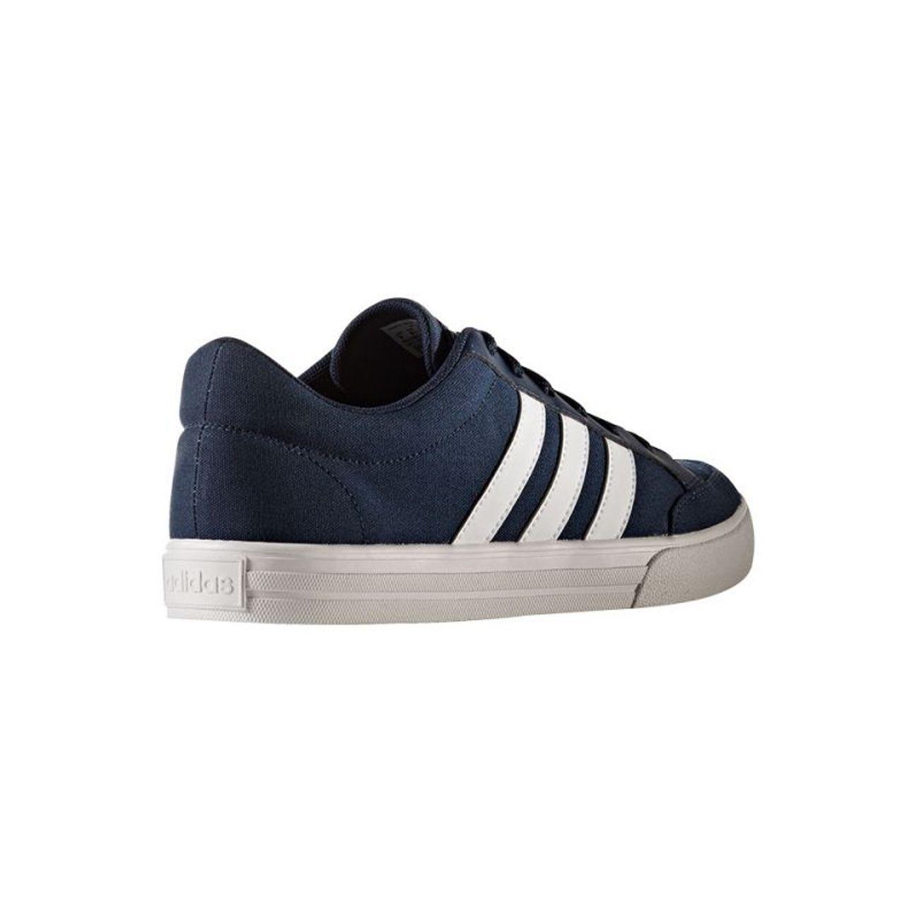 adidas neo vs set bleu baskets mode homme moins cher