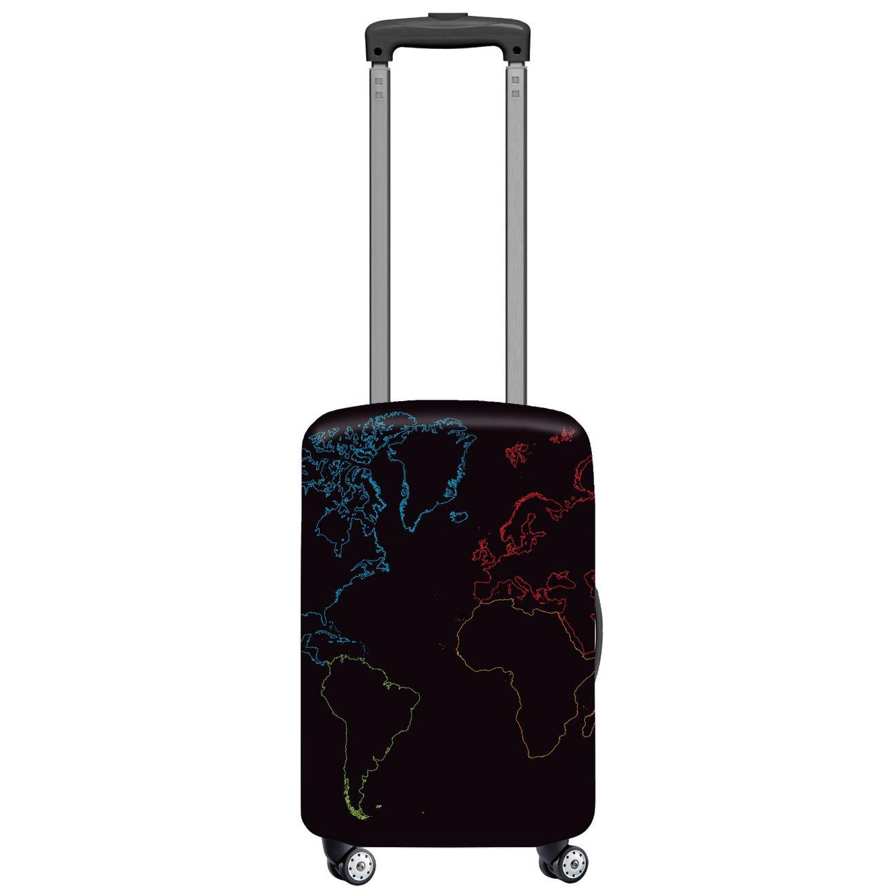 Map, L /élastique Housse de valise valise coque housse de valise bagages couverture protection de valise housse de bagage Luggage Cover