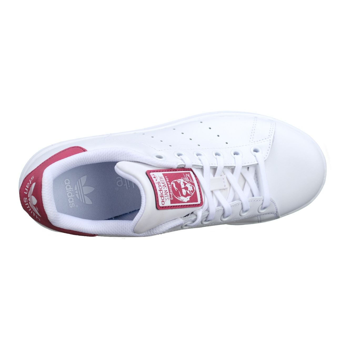Basket Adidas Stan Smith J Db1201 Blanc / Rose – achat pas ...