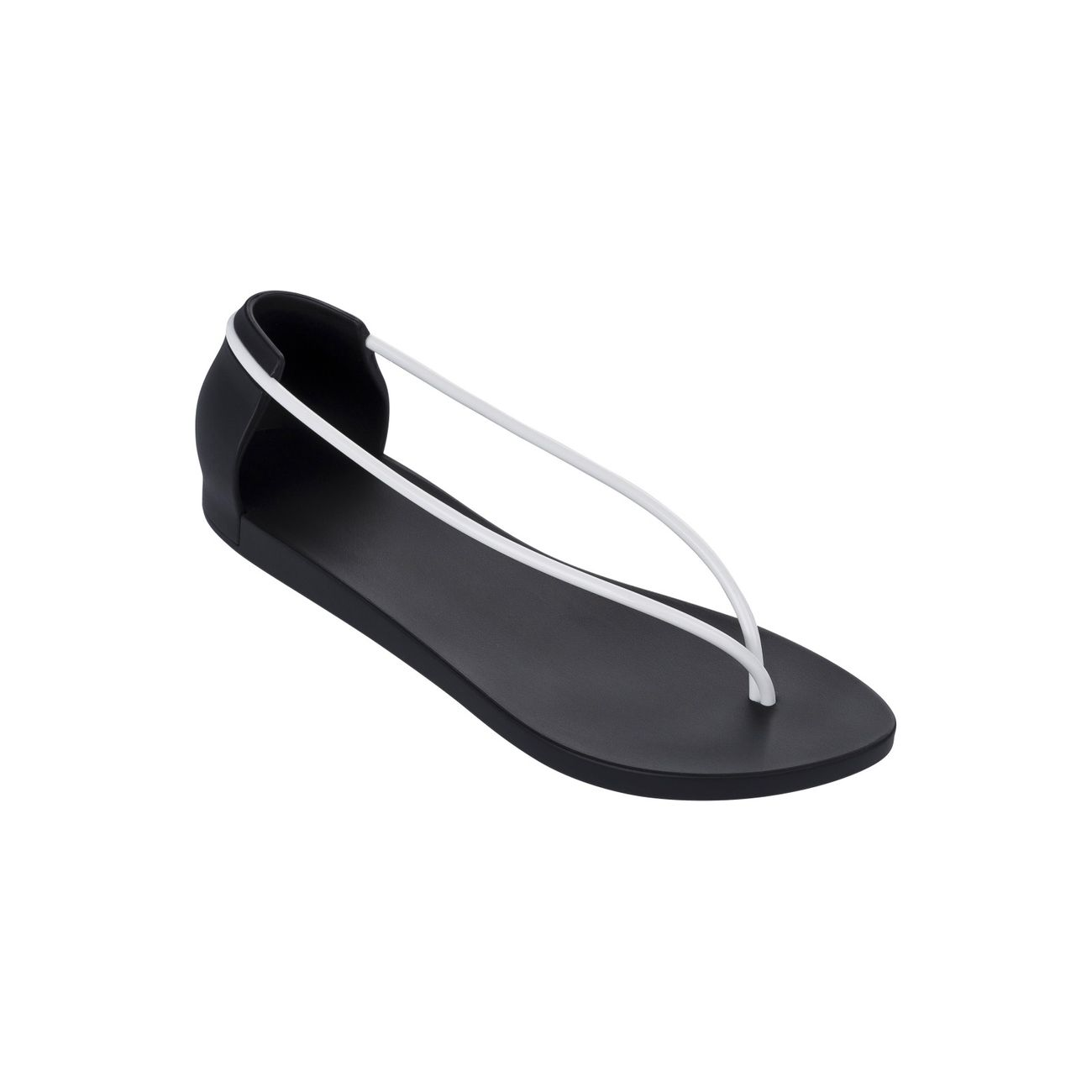60191f476e4 Mode- Lifestyle femme IPANEMA Tongs Ipanema with Starck Noir et Blanc N II