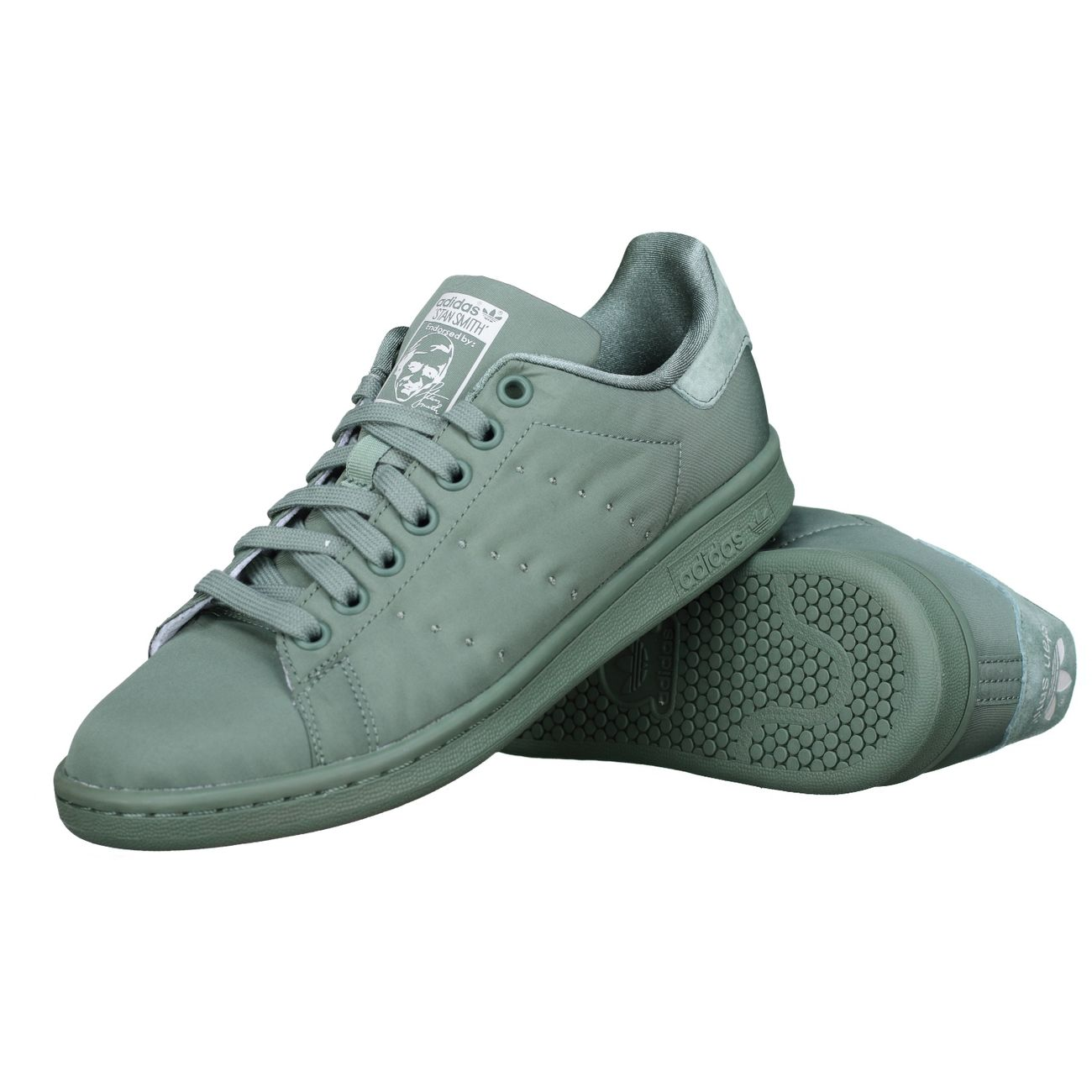 new concept 1f62c 1ee57 Mode- Lifestyle homme ADIDAS Basket Adidas Stan Smith W Bz0396 Vert ...