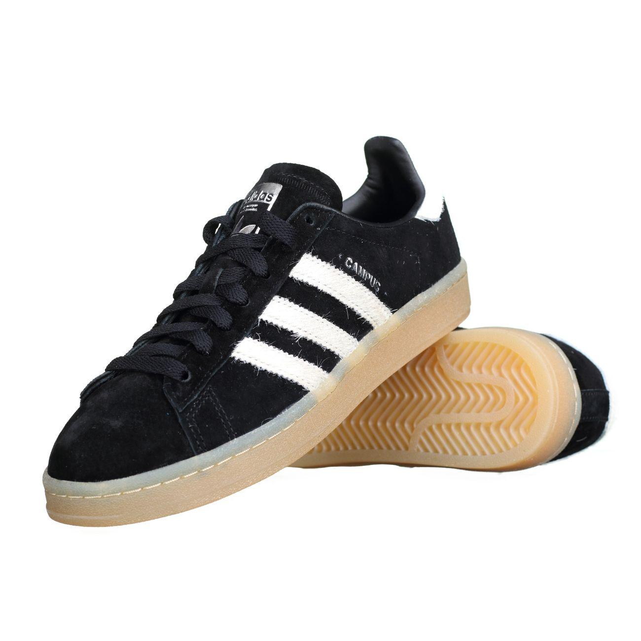basket adidas campus bz70071 noir achat et prix pas cher go sport. Black Bedroom Furniture Sets. Home Design Ideas