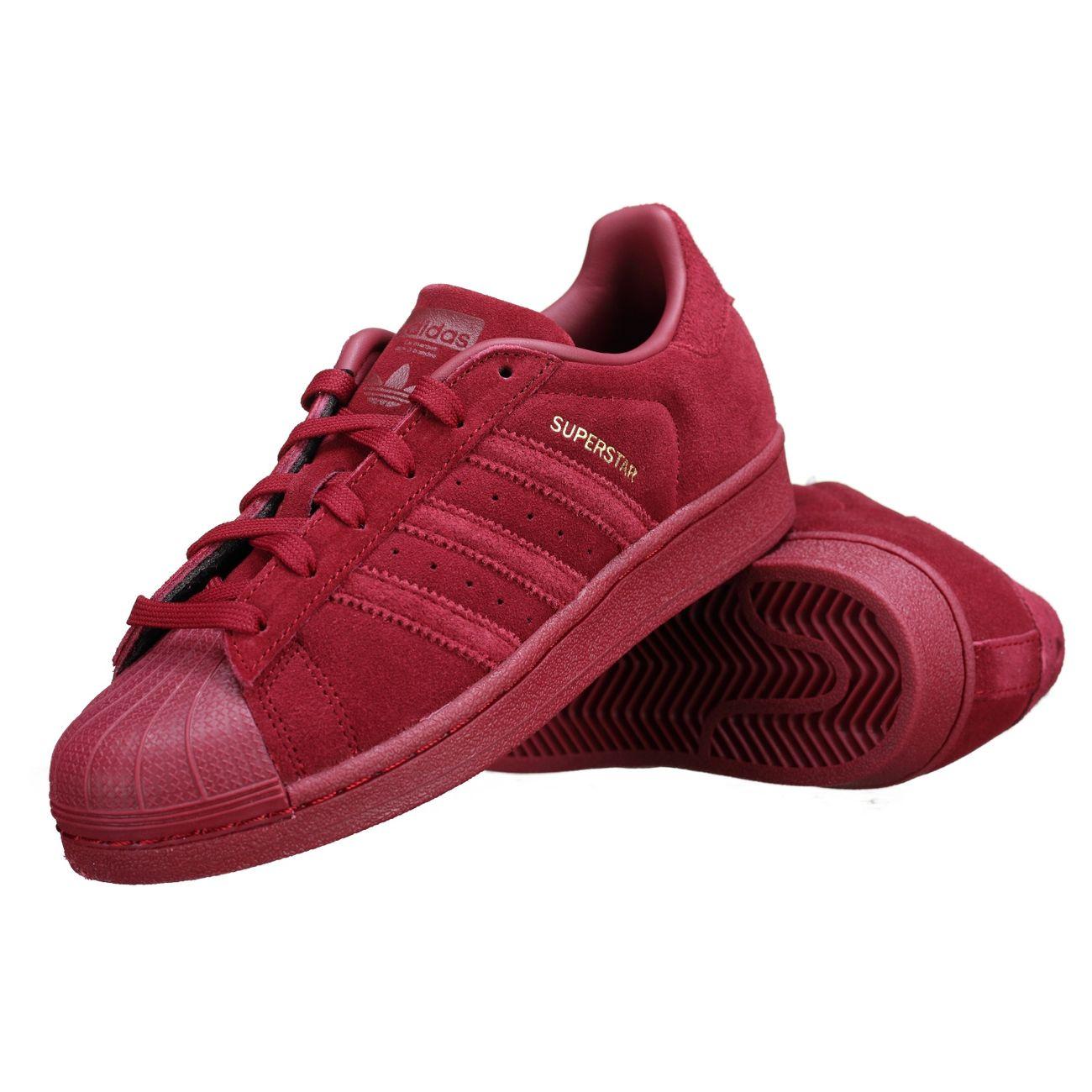 04a81d5c8b818 ... Mode- Lifestyle homme ADIDAS Basket Adidas Superstar J Cg3738 Rouge ...