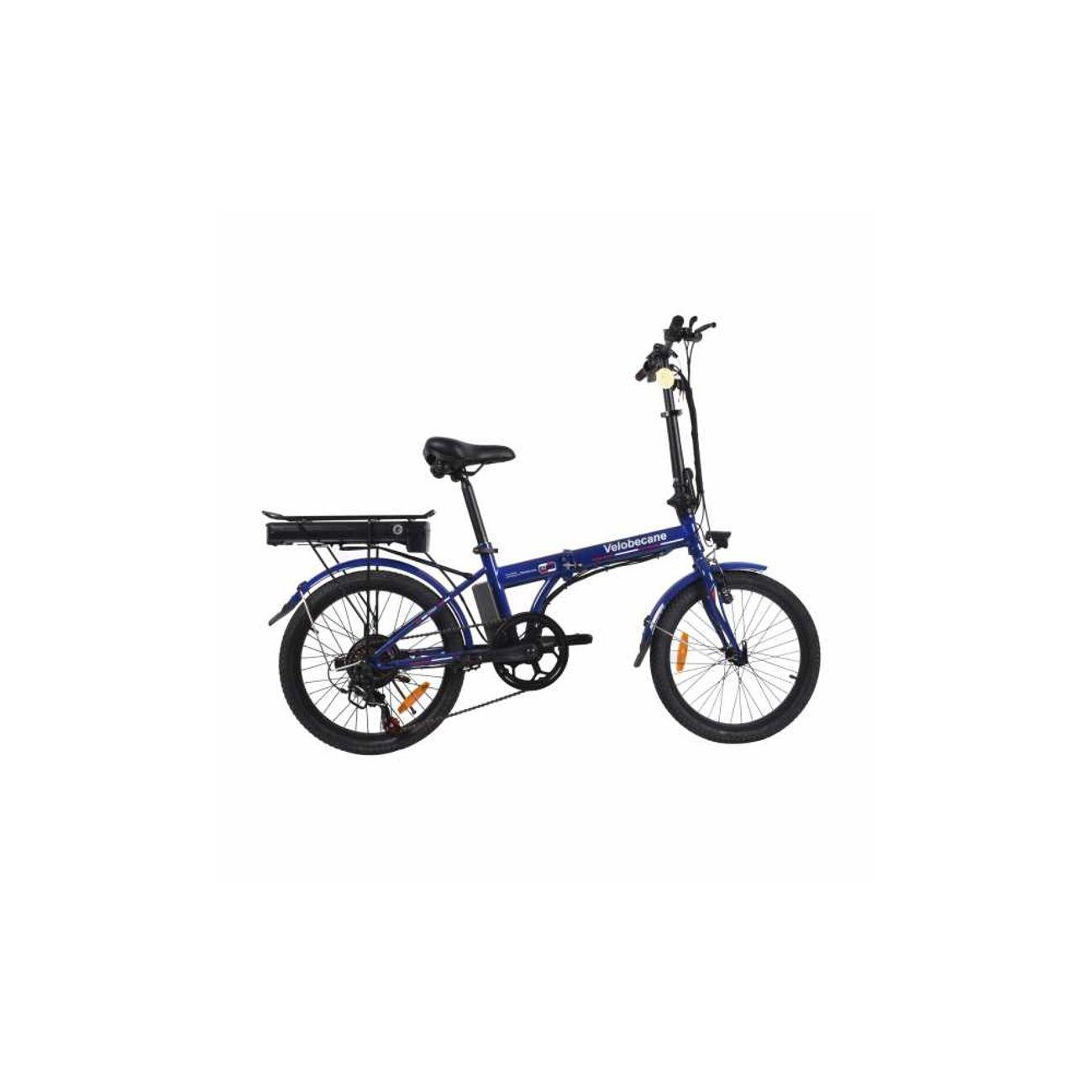 Vélo électrique Velobecane Urban Bleu pliant – achat et prix pas ... 6783c761562
