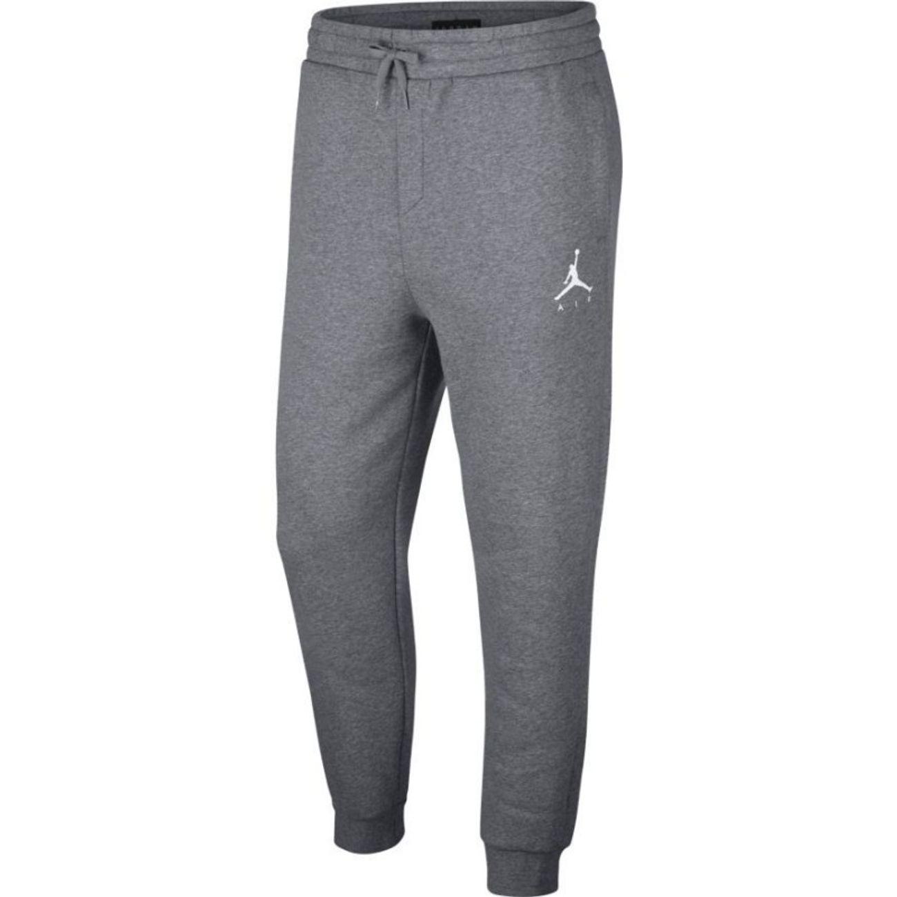 Mode- Lifestyle adulte JORDAN Pantalon Jordan Jumpman Fleece gris pour homme Taille - XXL