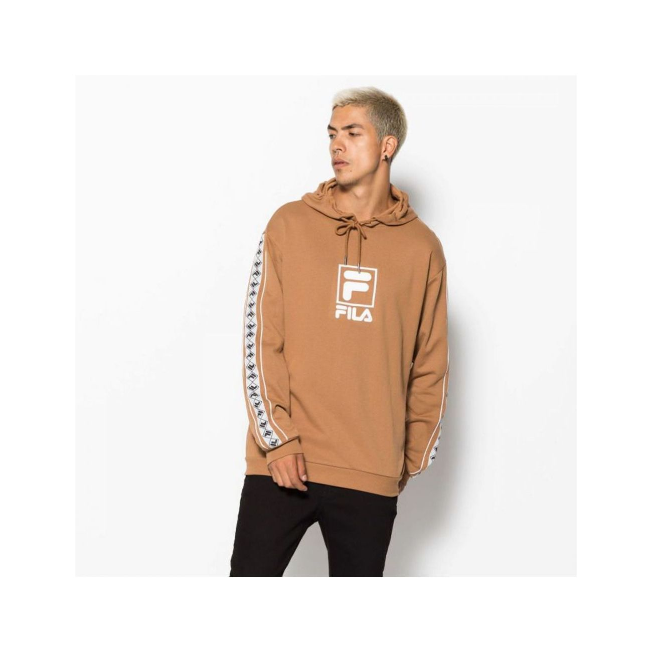 mode homme FILA Sweat à capuche bandes RANGLE