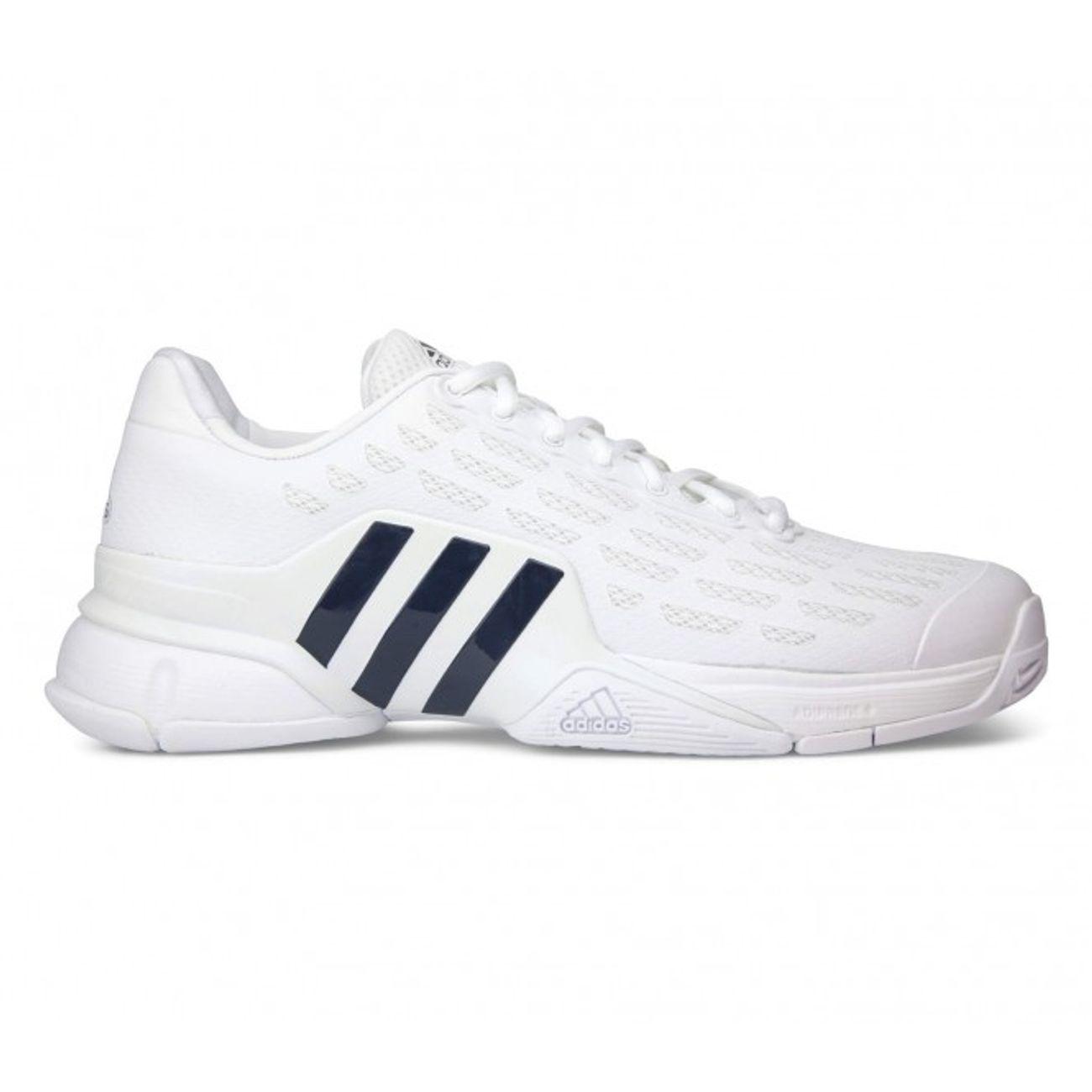 Chaussure De Tennisblancnoir Adidas 2016 Barricade Hommes E2IWH9DY