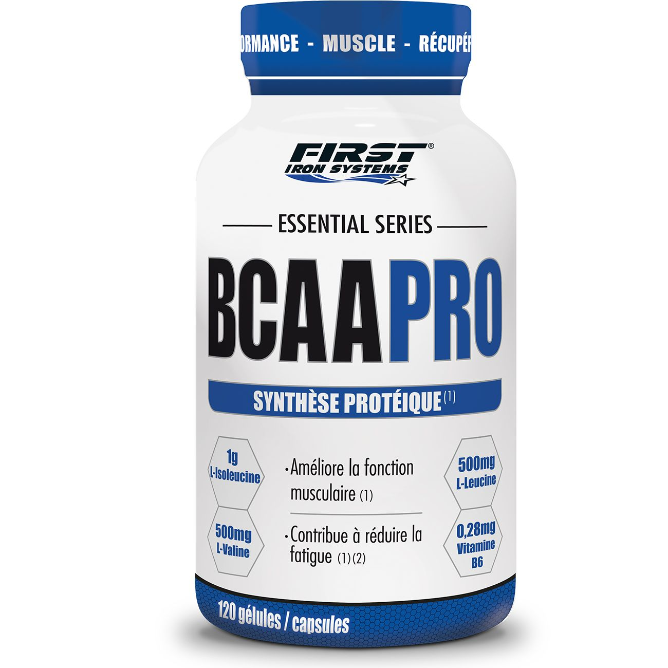 Prise de muscle Musculation  FIRST IRON SYSTEMS BCAAPRO
