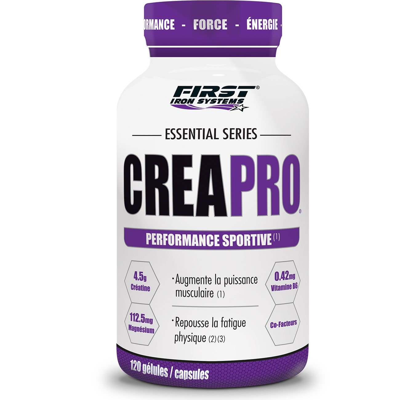 Performance-Endurance Musculation  FIRST IRON SYSTEMS CREAPRO