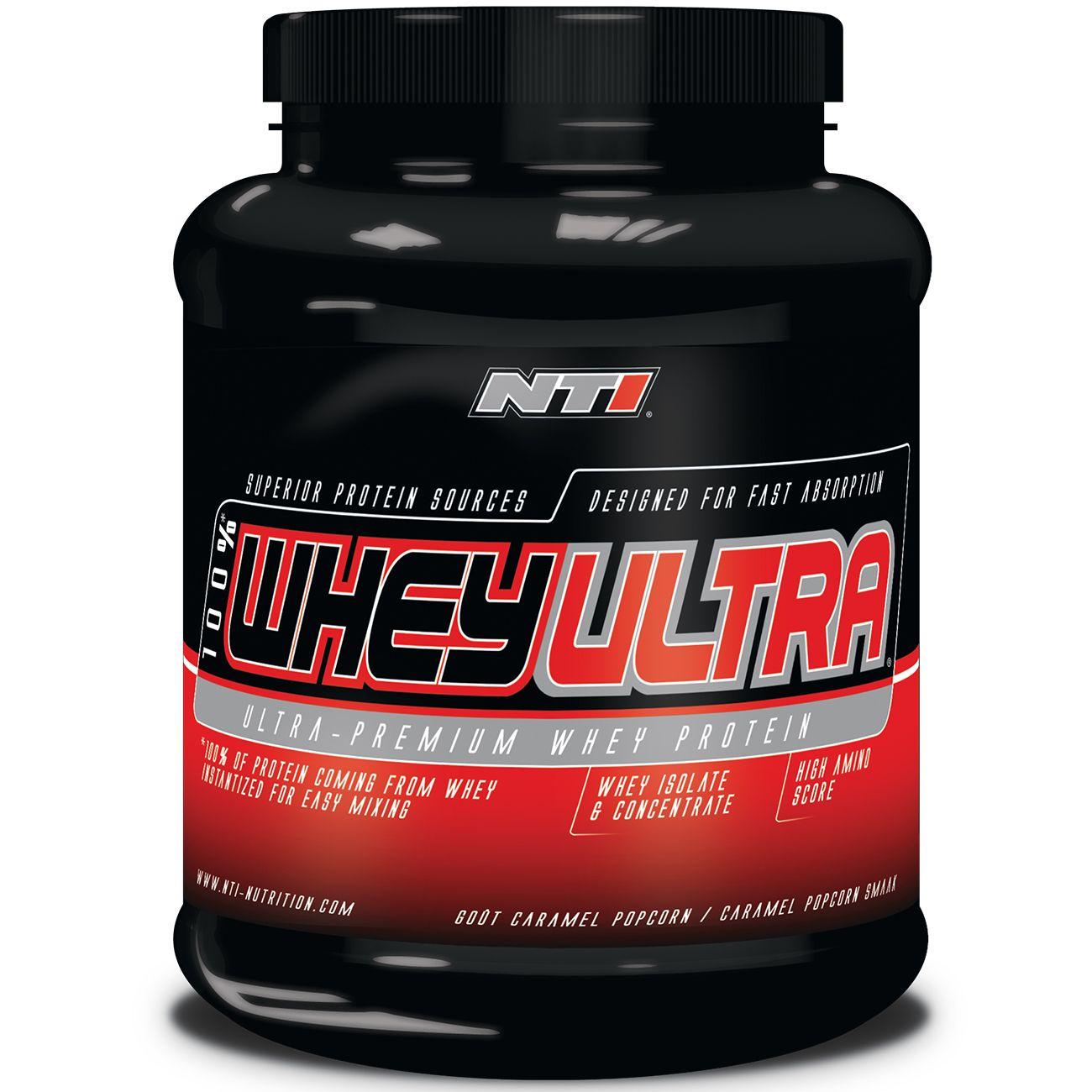Prise de muscle Musculation  NTI NUTRITION 100% WHEY ULTRA