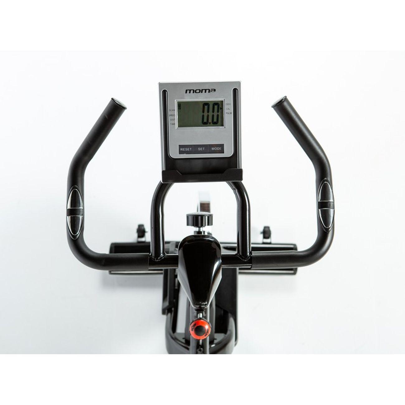 Cycle  MOMABIKES Velo d'appartement biking Moma Bikes INDOOR-24 avec Volant d'inertie de 24kg, Spinning