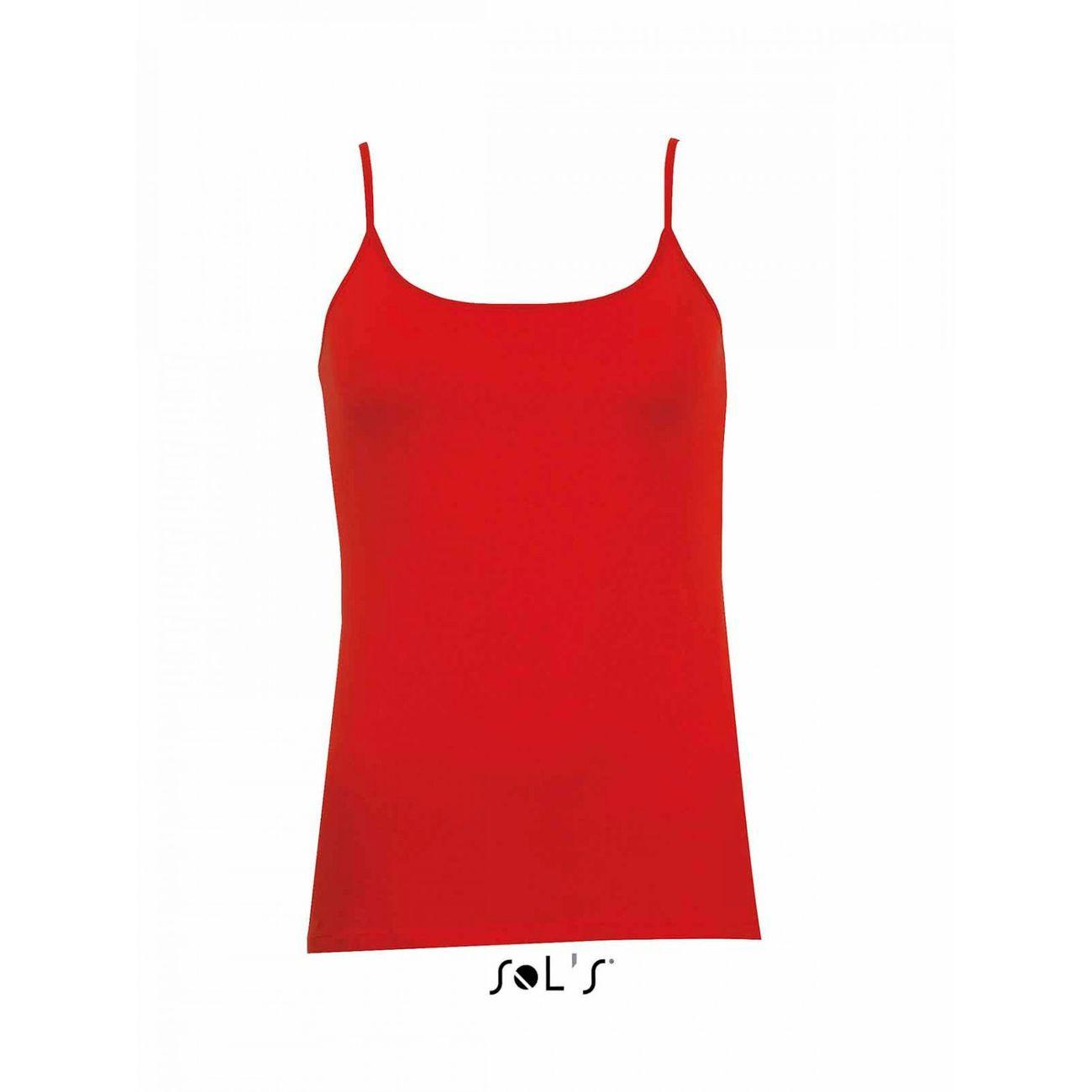 DbardeurFines Bretelles01184 Femme Coquelicot Sol S ModeLifestyle Rouge Yb7ygvf6
