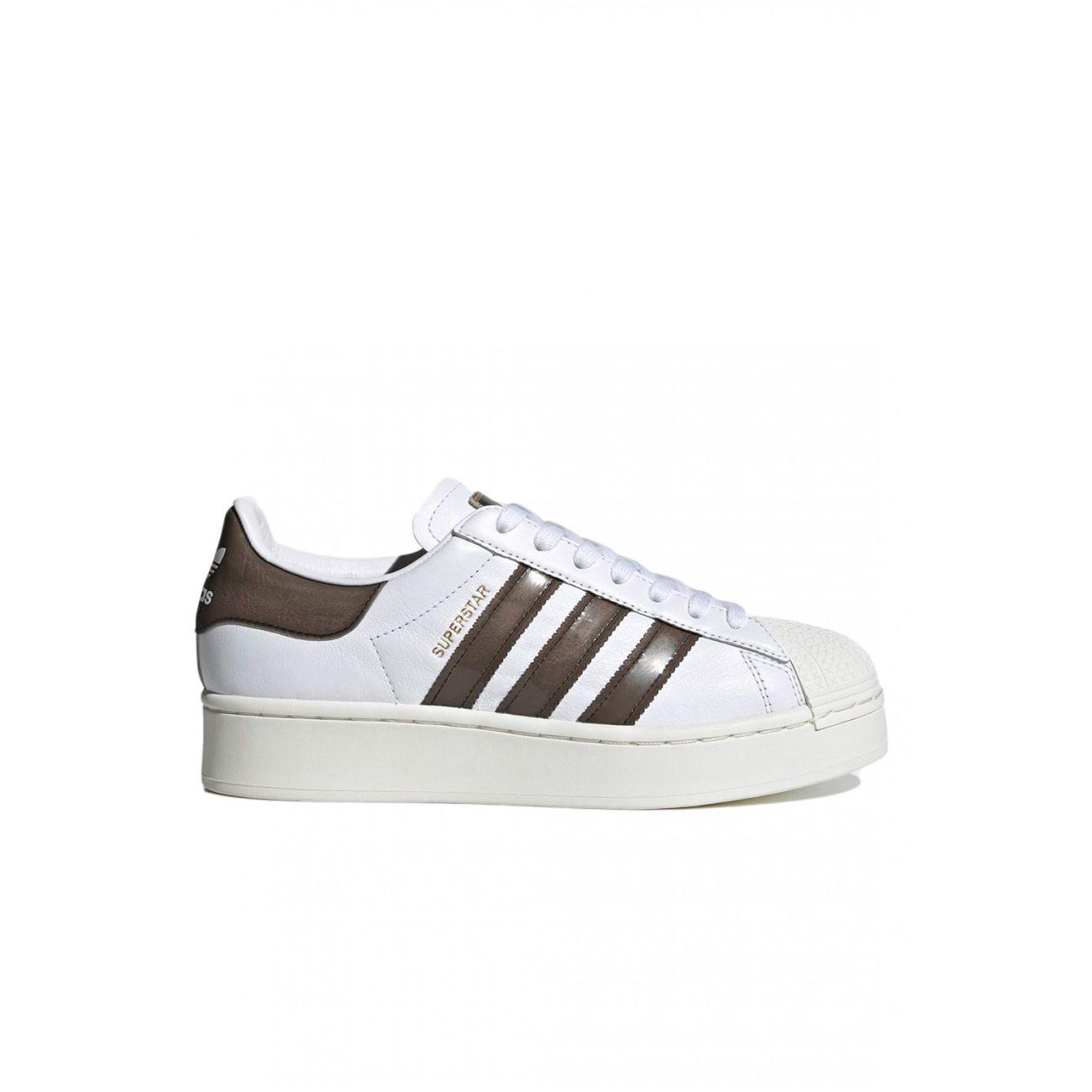 Sneakers à plateforme en cuir Superstar - Adidas - Femme – achat ...