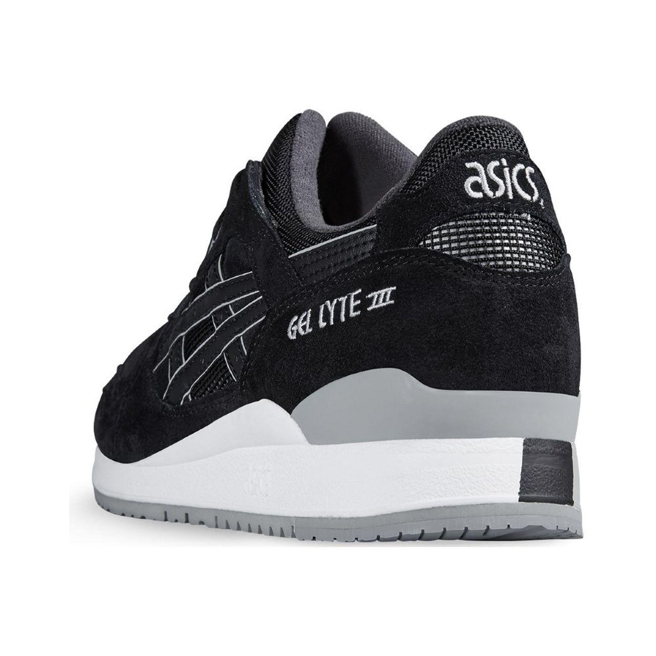 Asics Gel Lyte III H5U3L 9090 H Baskets Noir – Soldes et