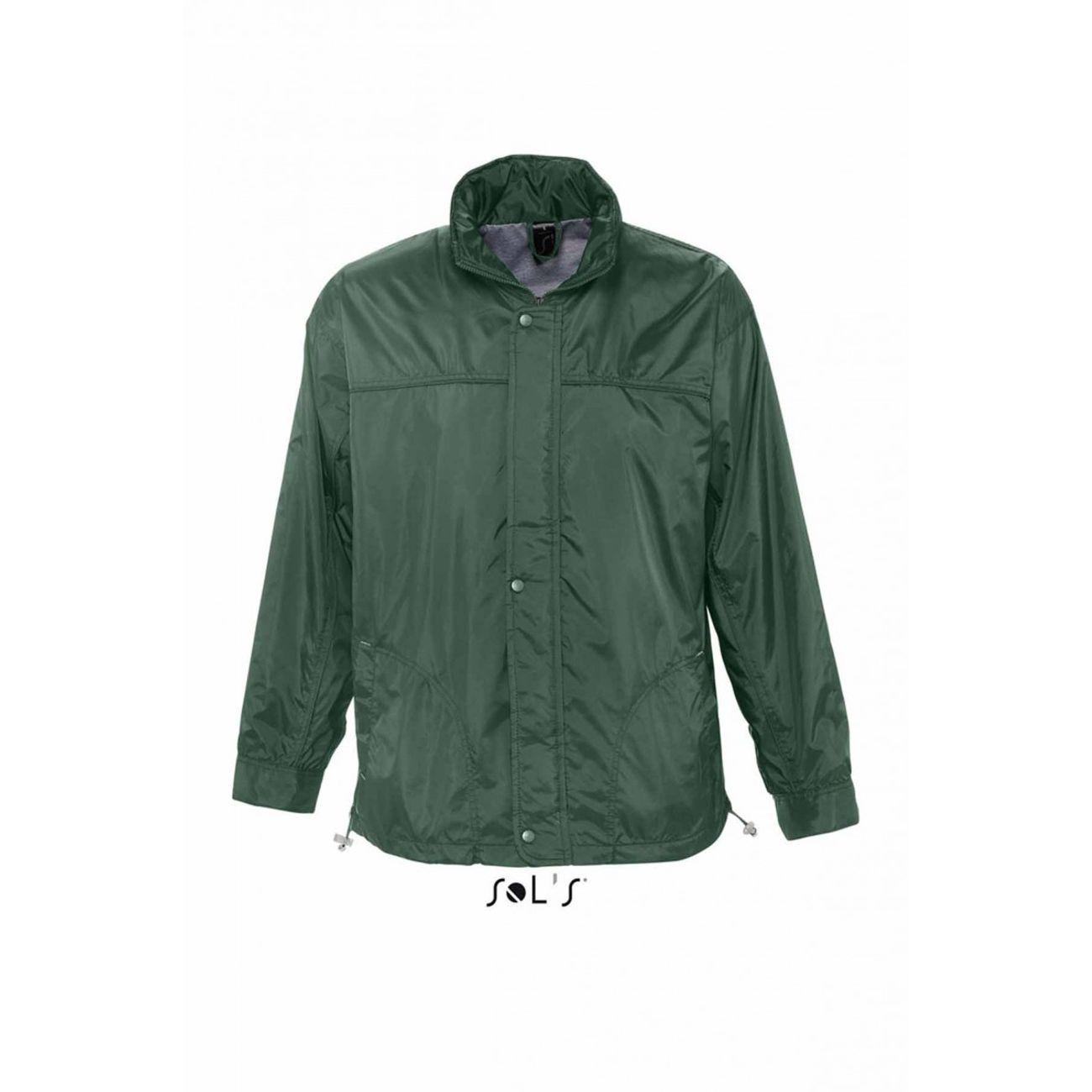 veste coupe vent imperm able doubl jersey 46000 vert. Black Bedroom Furniture Sets. Home Design Ideas