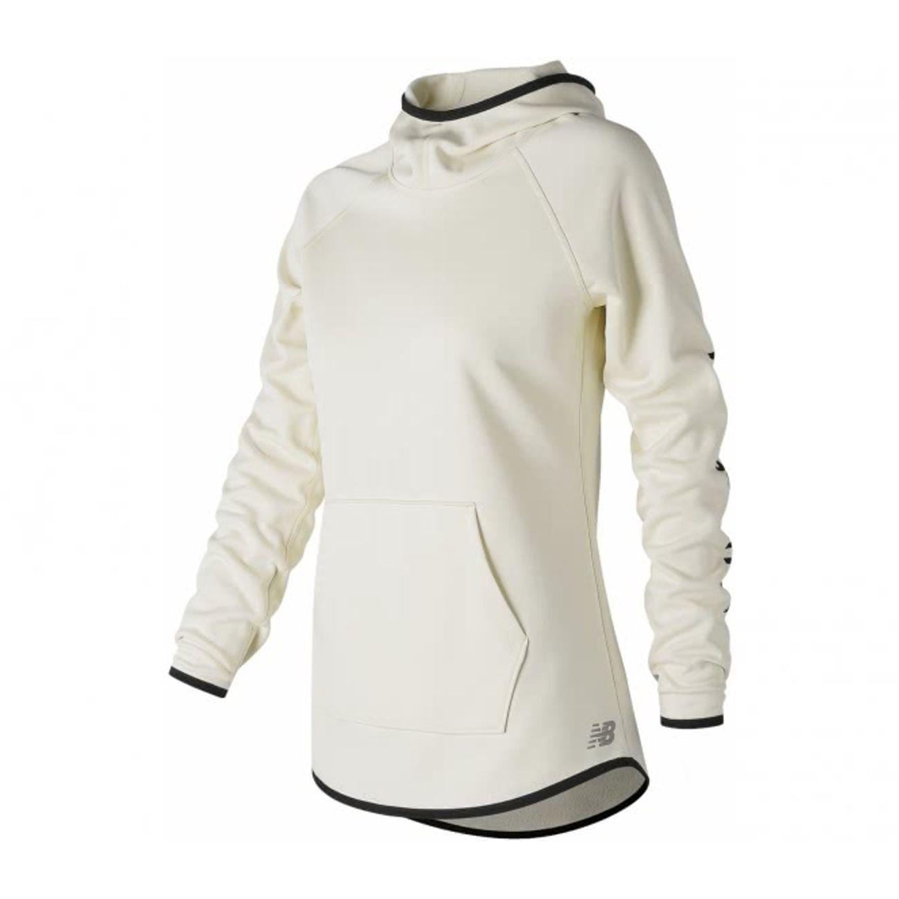 5b252a2d7e72 running femme NEW BALANCE New Balance - Accelerate toison Femmes Courir  Sweat à capuche (blanc