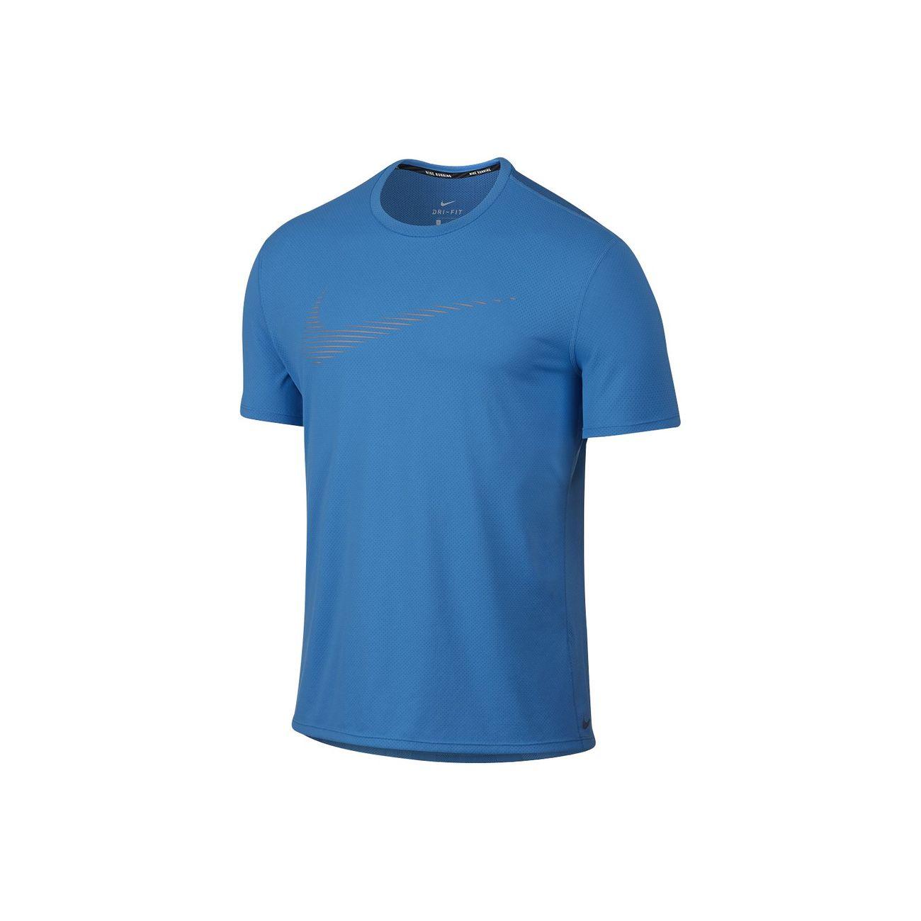 Courtes Homme Dry Nike Manches Multisports Shirts Bleu T Contour UnqnxO