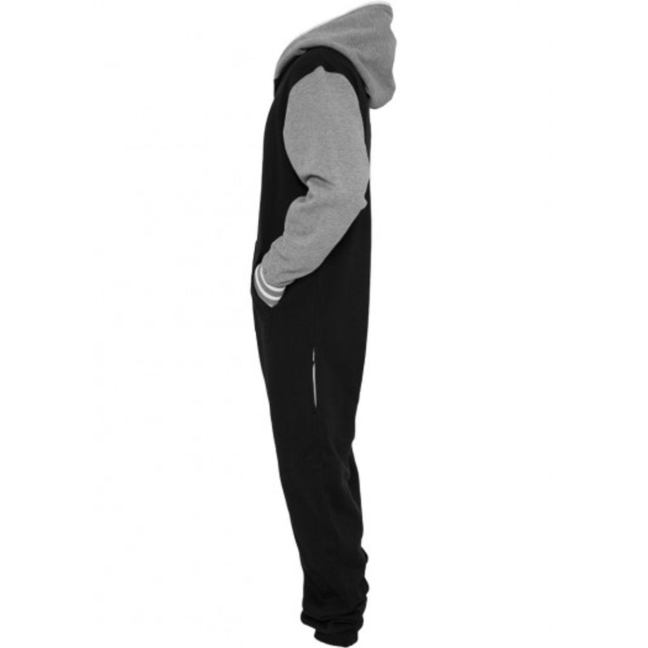NoirGris Classics ModeLifestyle Jumpsuit Urban Combinaison Grenouillère Adulte YeDHI2WE9