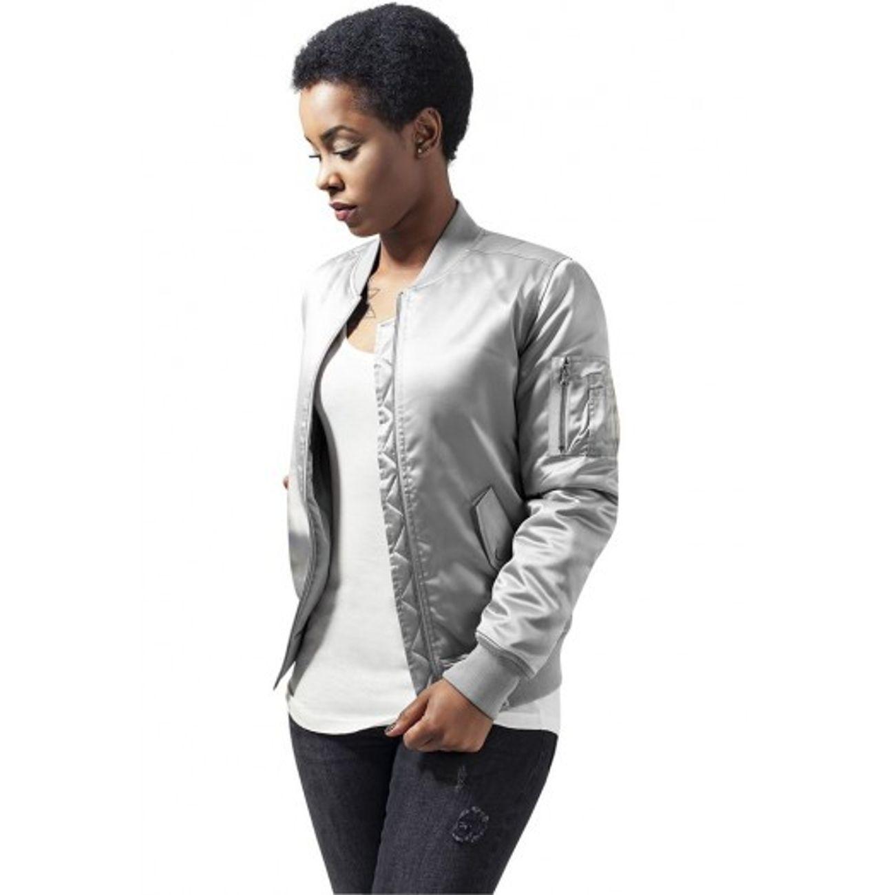 sale retailer 78968 63a53 blouson-bomber-femme-urban-classics-argent-shiny 1 v1.jpeg
