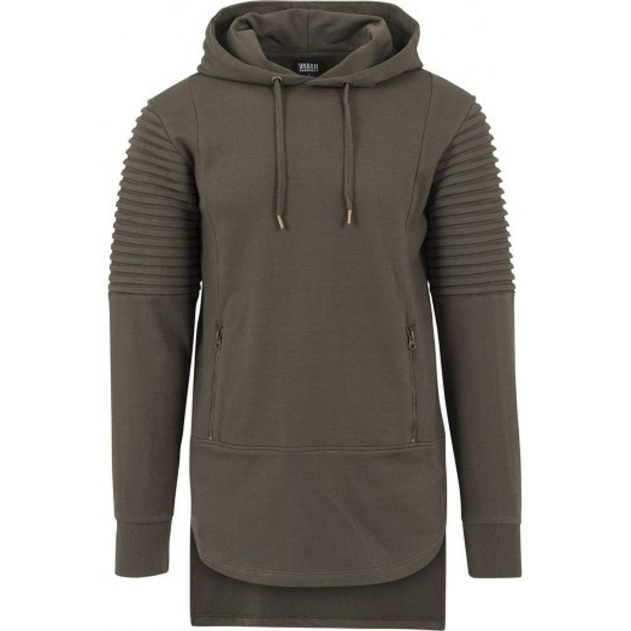 Mode- Lifestyle adulte URBAN CLASSICS Sweat Capuche Oversize Urban Classics  Pleat Olive c382a2784eb0