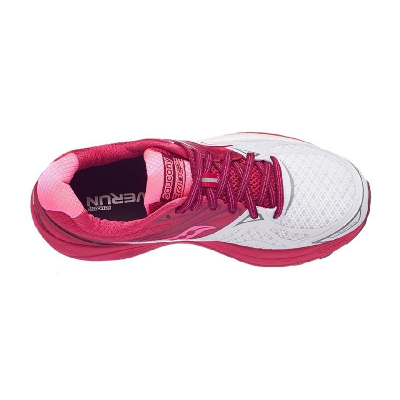 Adulte Running Saucony Ride 9 Rose Blanc S103186 F1JclK