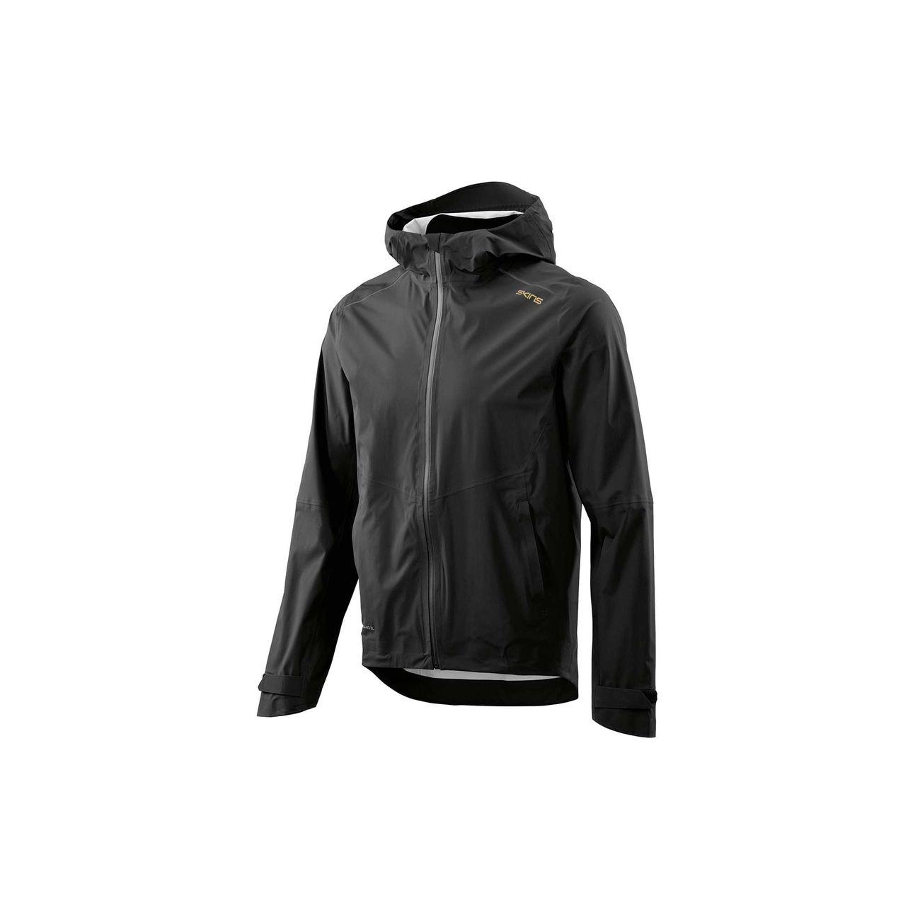 running homme SKINS Mens's Nano 3L Rain Jacket