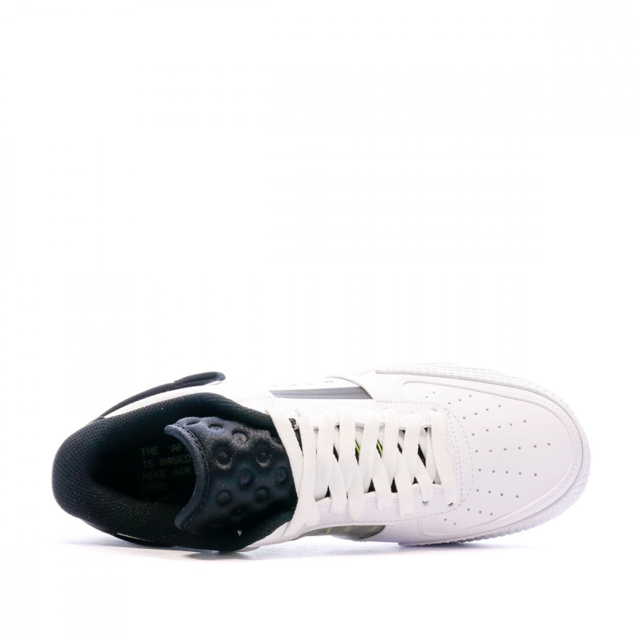 Mode- Lifestyle homme NIKE Baskets blanches/noires homme Nike Air Force 1 Type