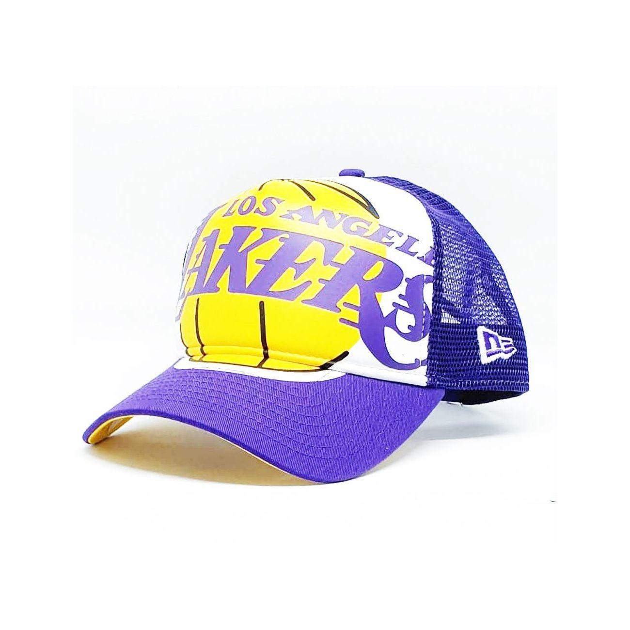 Mode- Lifestyle adulte NEW ERA Casquette à filet Los Angeles Lakers NBA RETRO PACK
