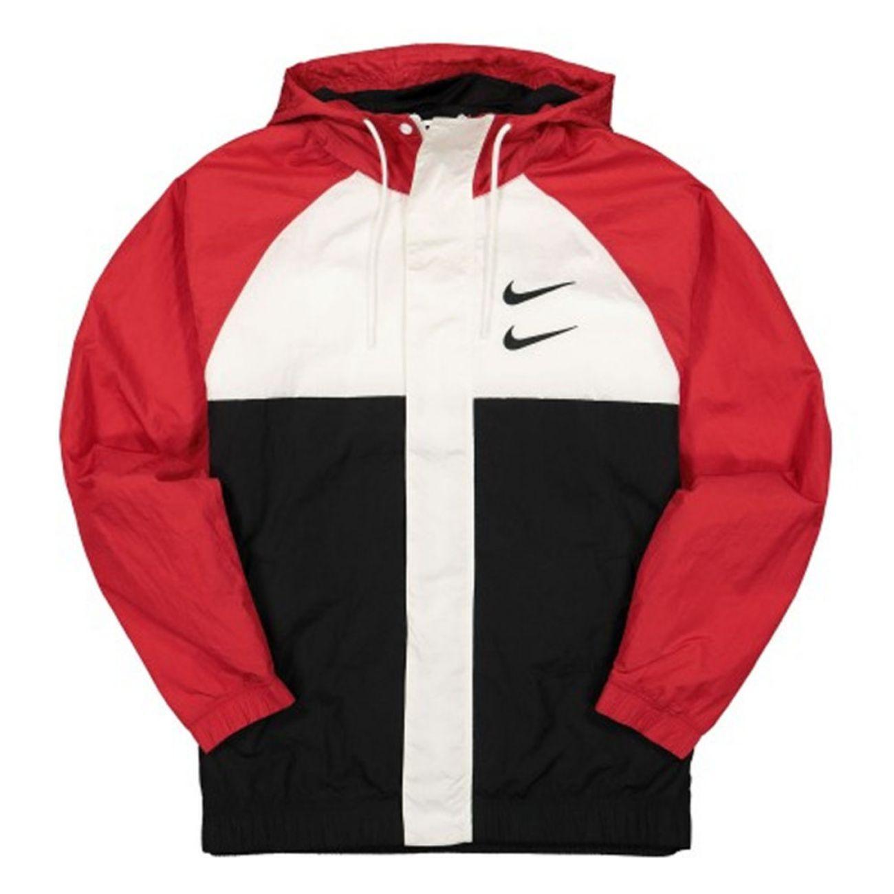 mode adulte NIKE Veste Tissée À Capuche Nike Sportswear Swoosh
