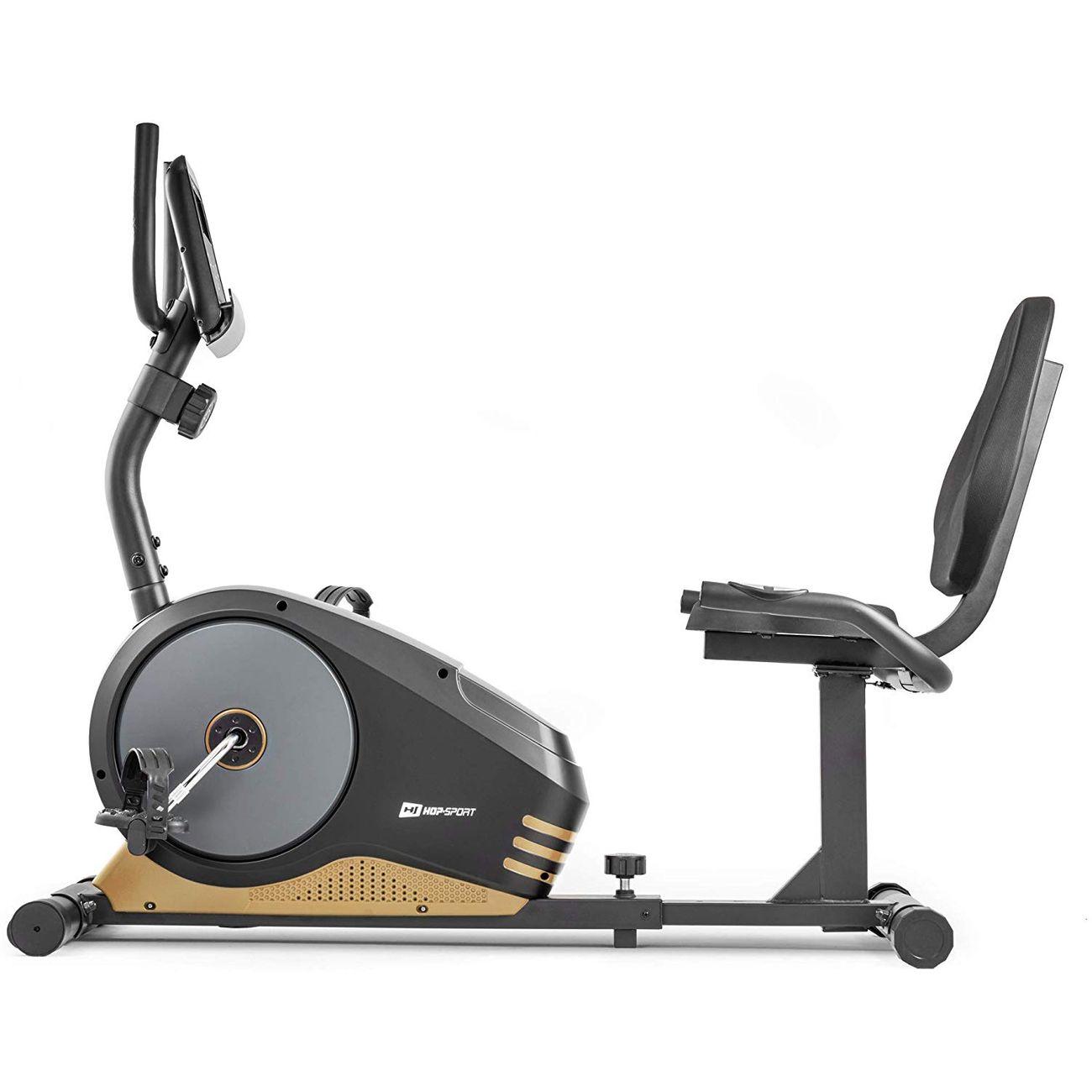 Fitness  HS HOP SPORT HS HOP-SPORT Vélo d'Appartement Semi-allongé HS-040L Root (Doré)