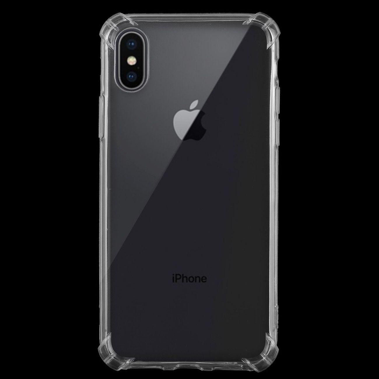 auto-hightech Coque housse pour iphone XS Ultra-minces Transparentes Mou de TPU étui de Protection pour iPhone XS Max (Transparent)