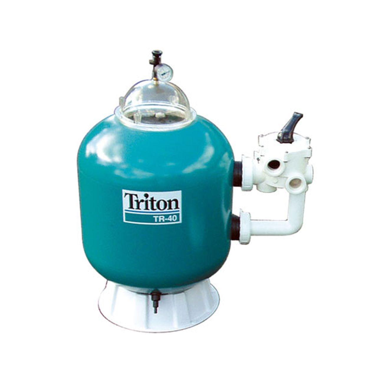 Filtration piscine sable triton tr60 14m3 h for Habitat et jardin piscine
