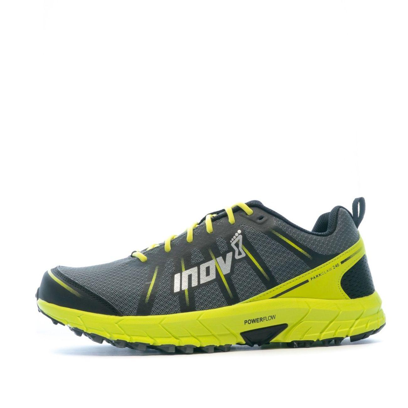 homme INOV 8 Chaussure trail Jaune noire Homme INOV parkclaw 240