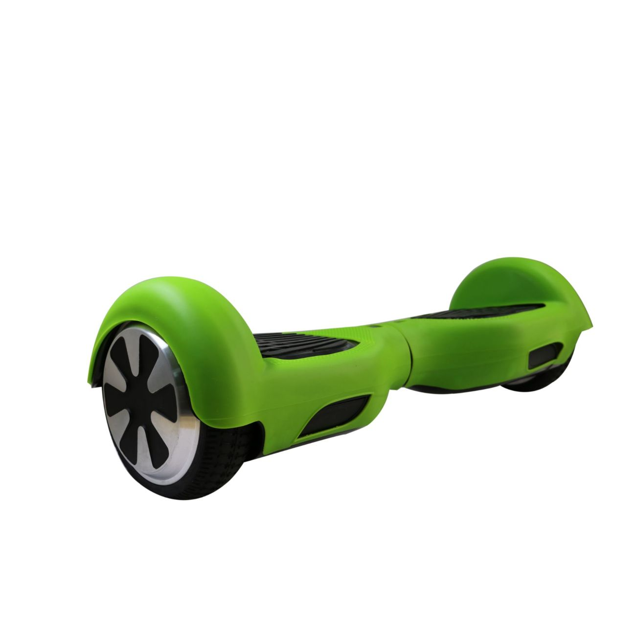 Housse en silicone protection int grale vert gyropode for Housse hoverboard