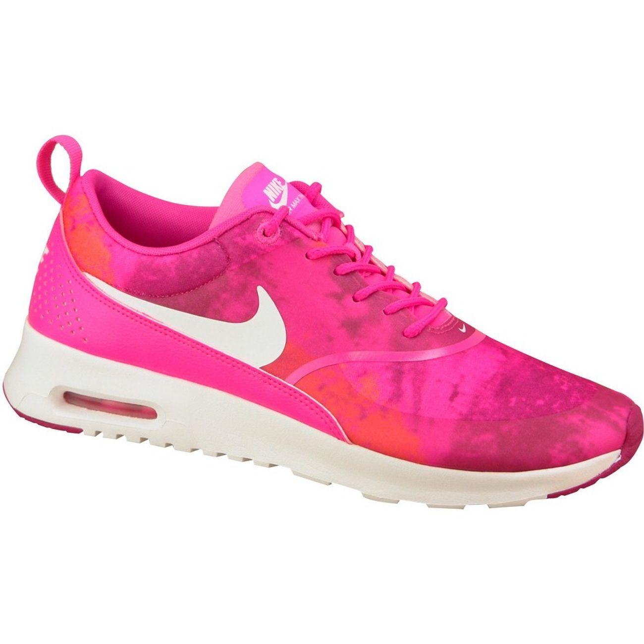 info pour 72e35 9f1e6 Mode- Lifestyle femme NIKE Nike Air Max Thea Print Wmns 599408-602 F  Baskets Rose