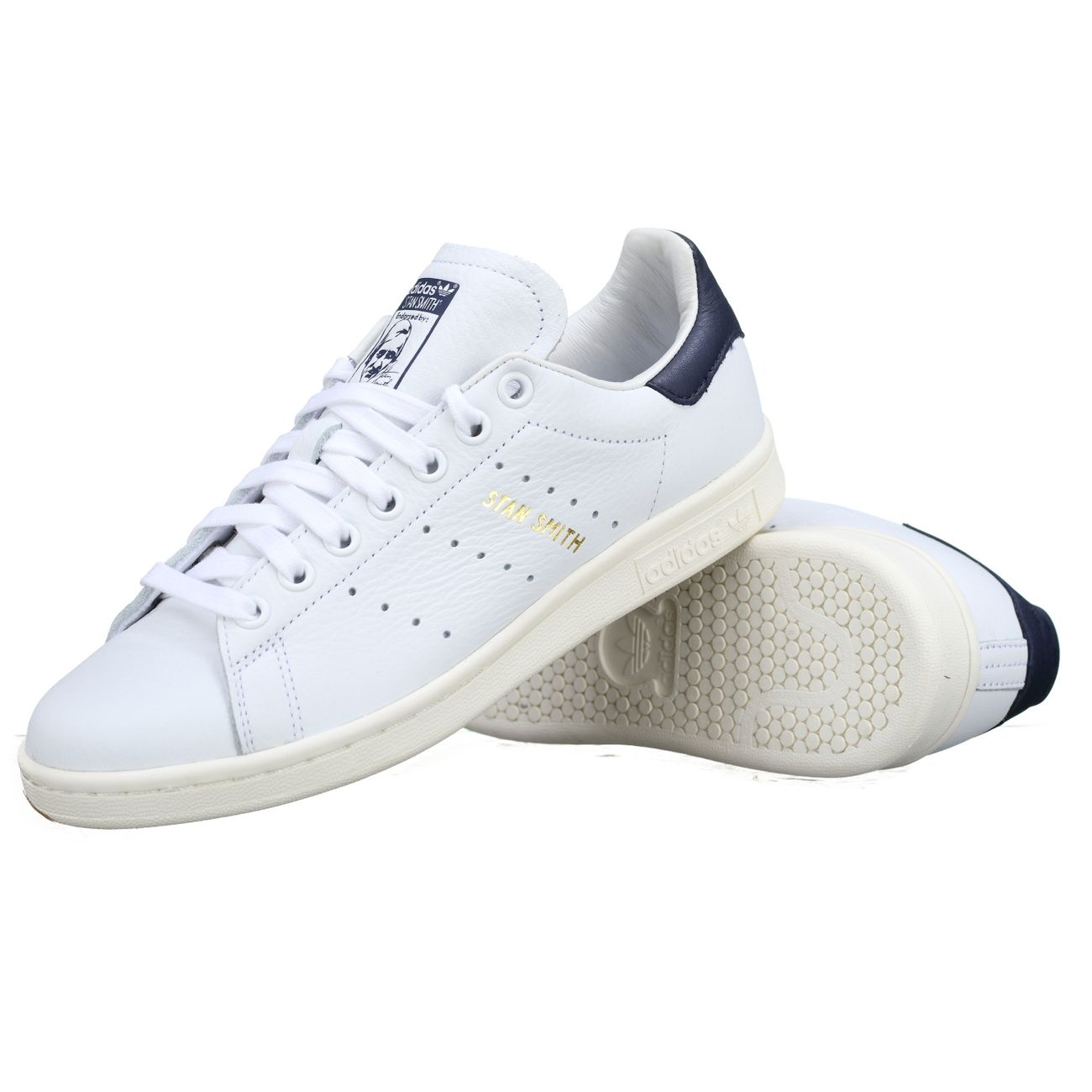 Mode Lifestyle homme ADIDAS Basket Adidas Stan Smith Cq2870 Blanc Marine