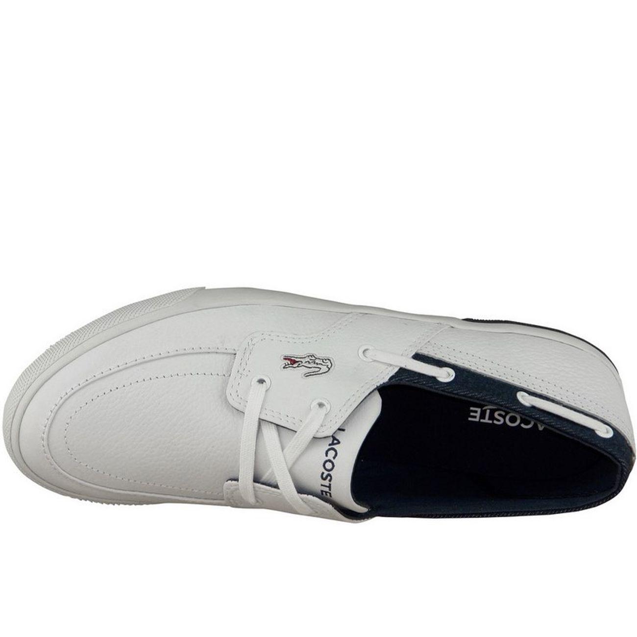 25spm4021x96 ModeLifestyle Lacoste H Blanc Homme Ramer Boat Baskets ZiukTwOPX