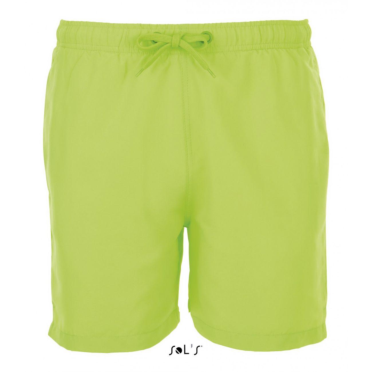 Natation homme SOL S Short de bain Homme - 01689 vert fluo