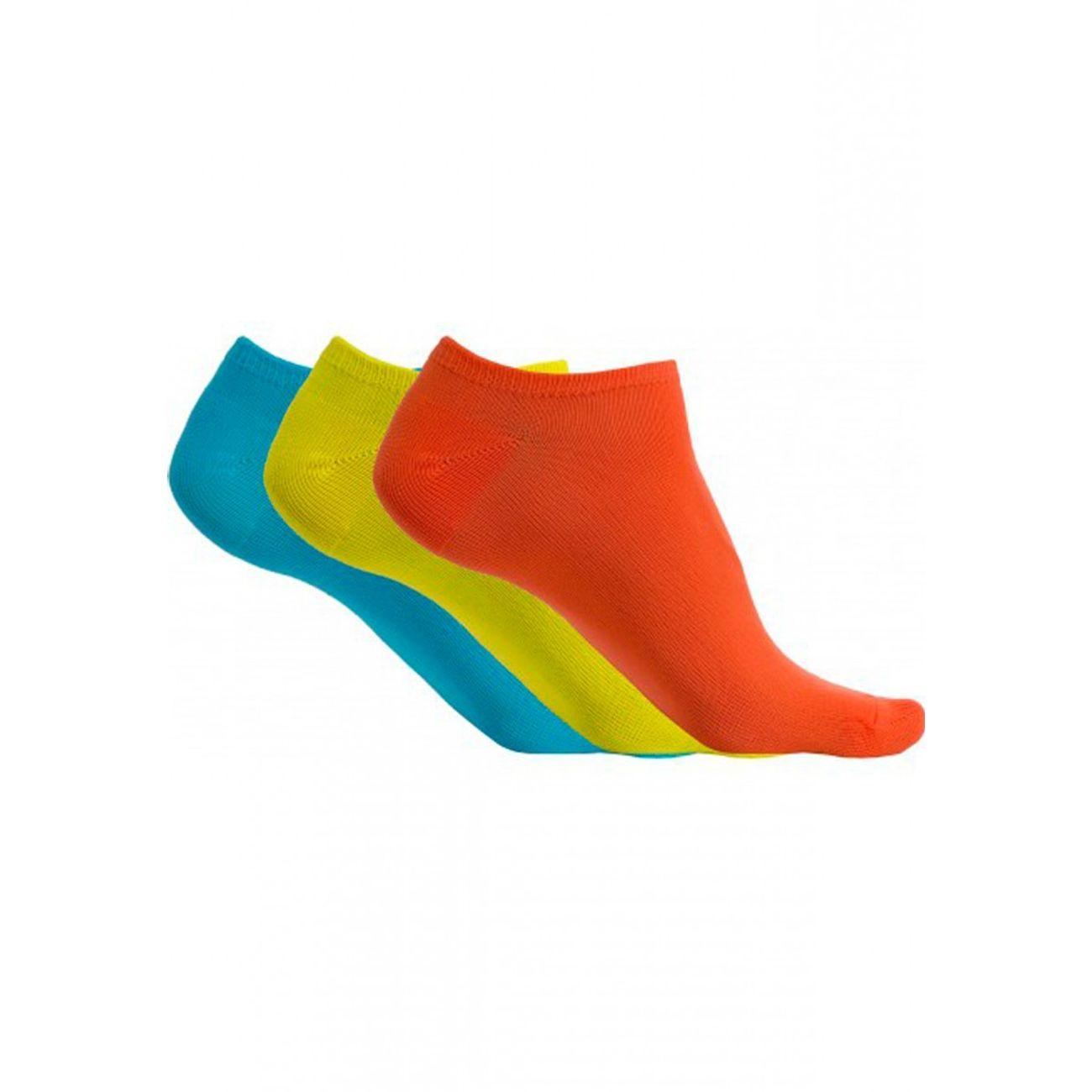 Bleu Homme Jaune ModeLifestyle 3 Paires Socquettes Pack MicrofibresPa033 Proact Orange Yy7gb6Ifvm