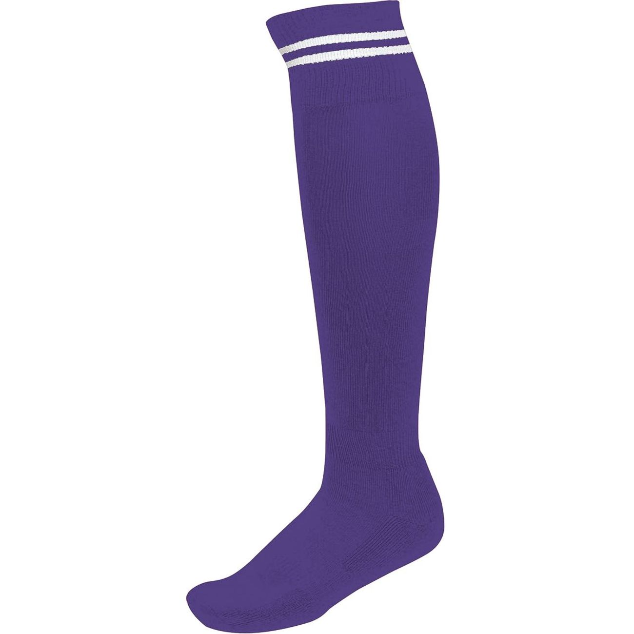 Violet Homme Football Chaussettes Rayure SportPa015 Blanche Proact 8m0wNvn
