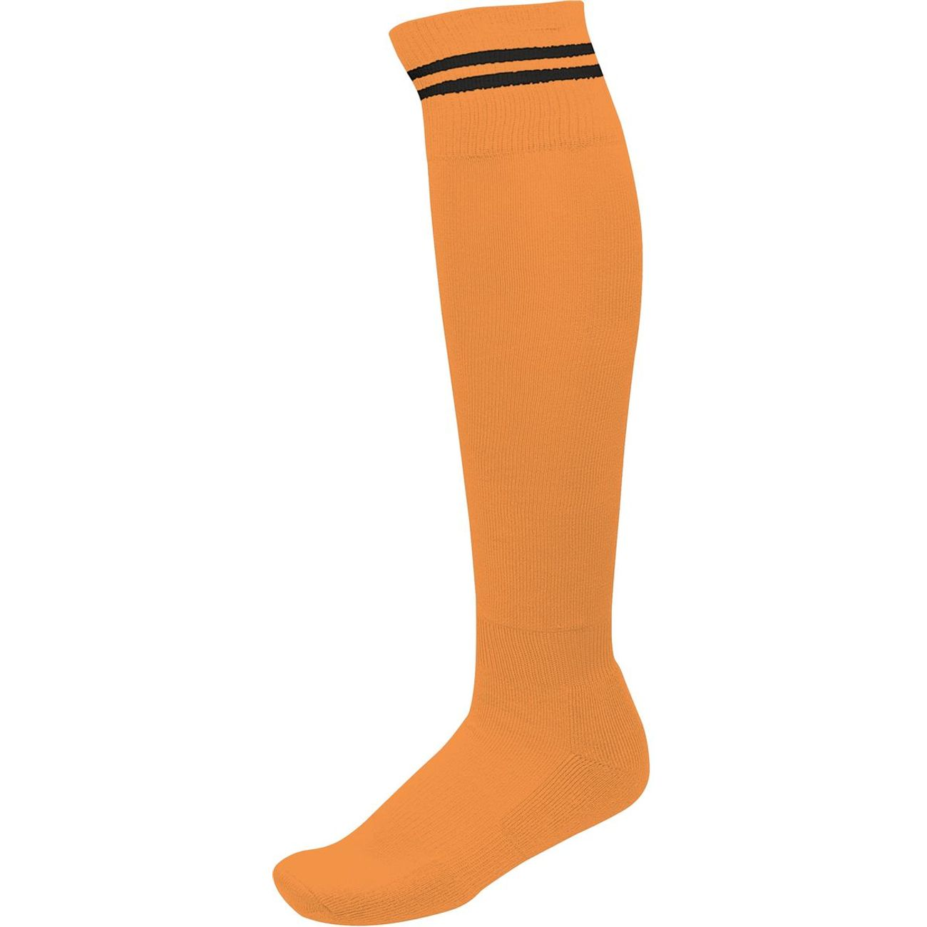 SportPa015 Football Rayure Homme Orange Noir Proact Chaussettes SUVpzM