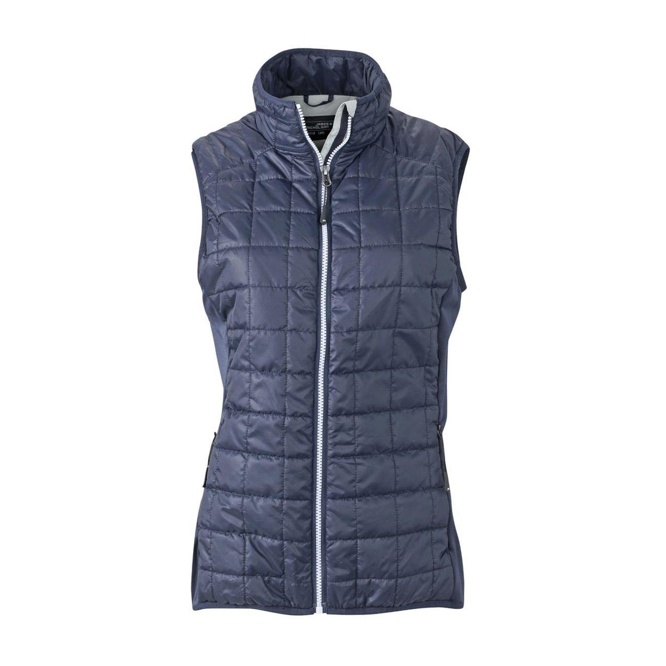 Hybride Femme MolletonnéJn1113 Manches ModeLifestyle Jamesamp; Nicholson Gilet Marine Sans Bleu TlF1J3uKc