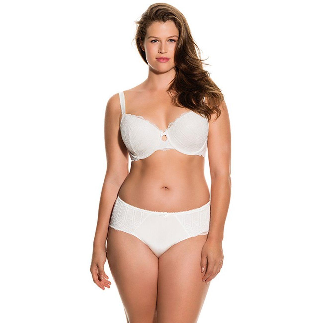 DORINA Soutien-gorge Balconnet T-Shirt Bra Celine Blanc Livraison Gratuite Confortable 6CCZn