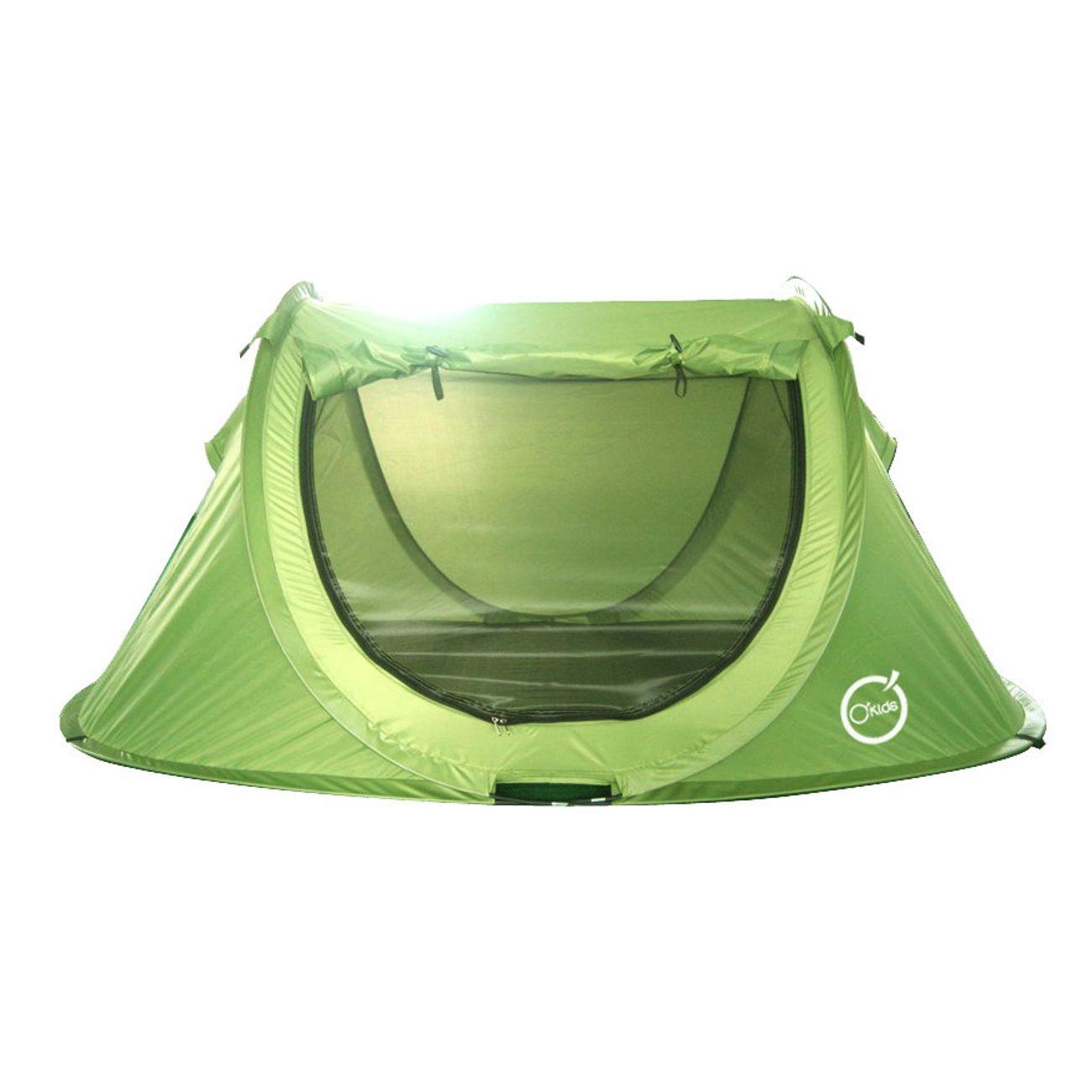 Camping  O'KIDS Tente POPUP Enfant - Structure Pliable et Confortable - Dimensions : 200 x 120 x 85 cm