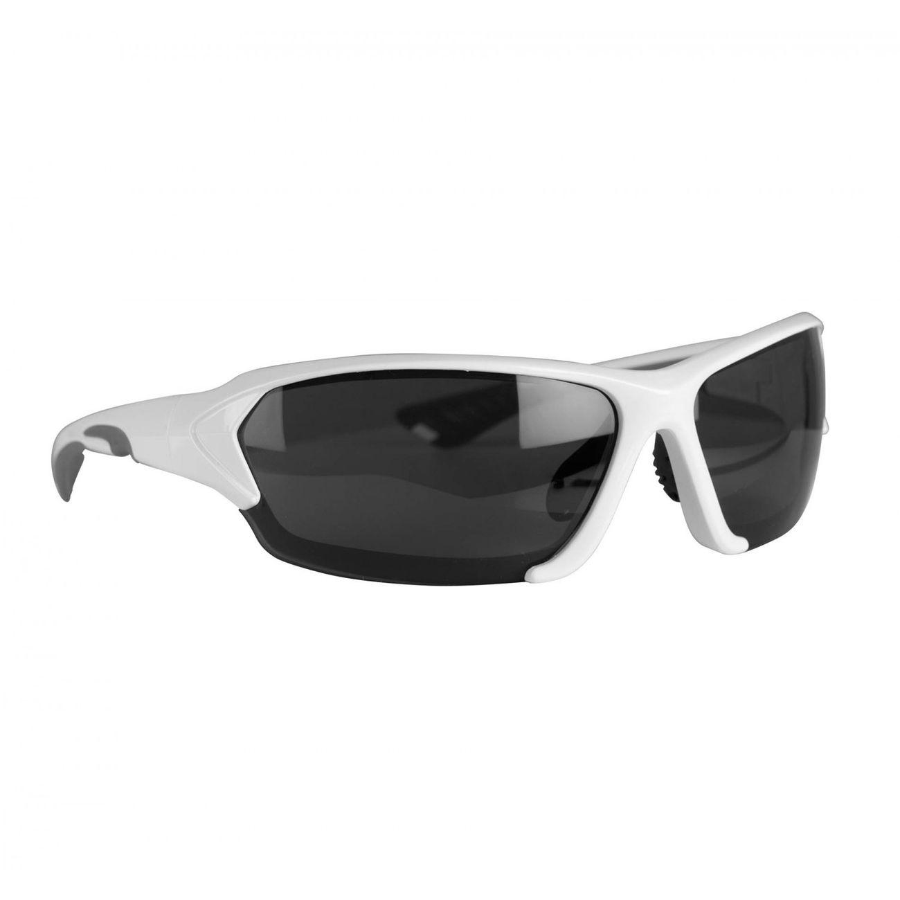 Mode- Lifestyle adulte KIMOOD Lunettes de soleil sport - KI3032 - blanc et gris